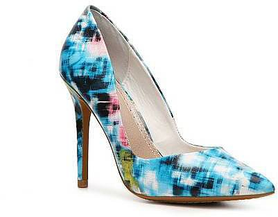 Charles David Printed Pumps