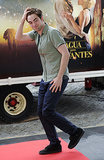 The Water For Elephants star gave fans a jolt of excitement when he brushed back his hair during a stop in Barcelona in May 2011.