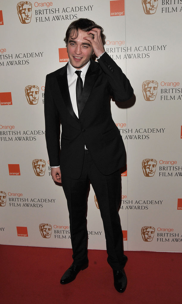 Rob paid a visit to the Orange British Academy Film Awards in February 2010 with unusually long locks.