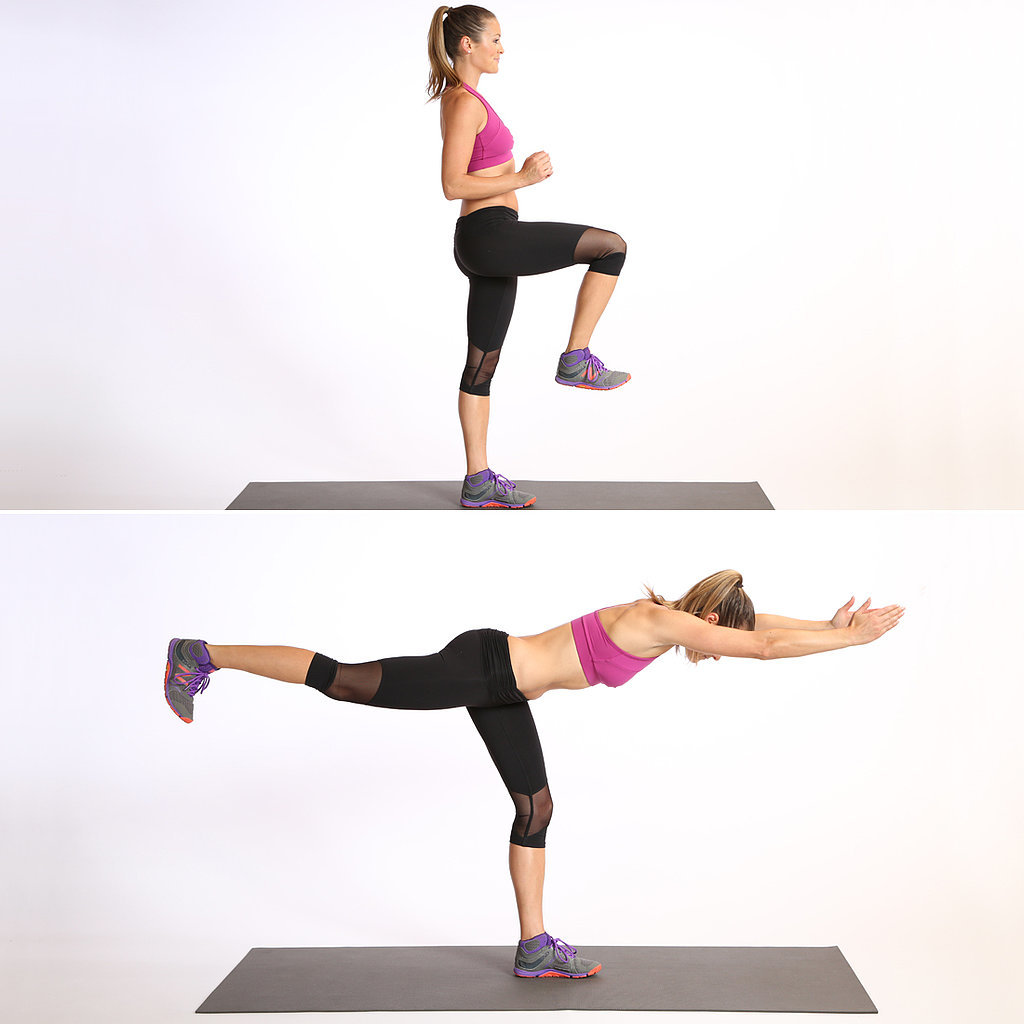 Circuit One: Leg Balance Warrior 3