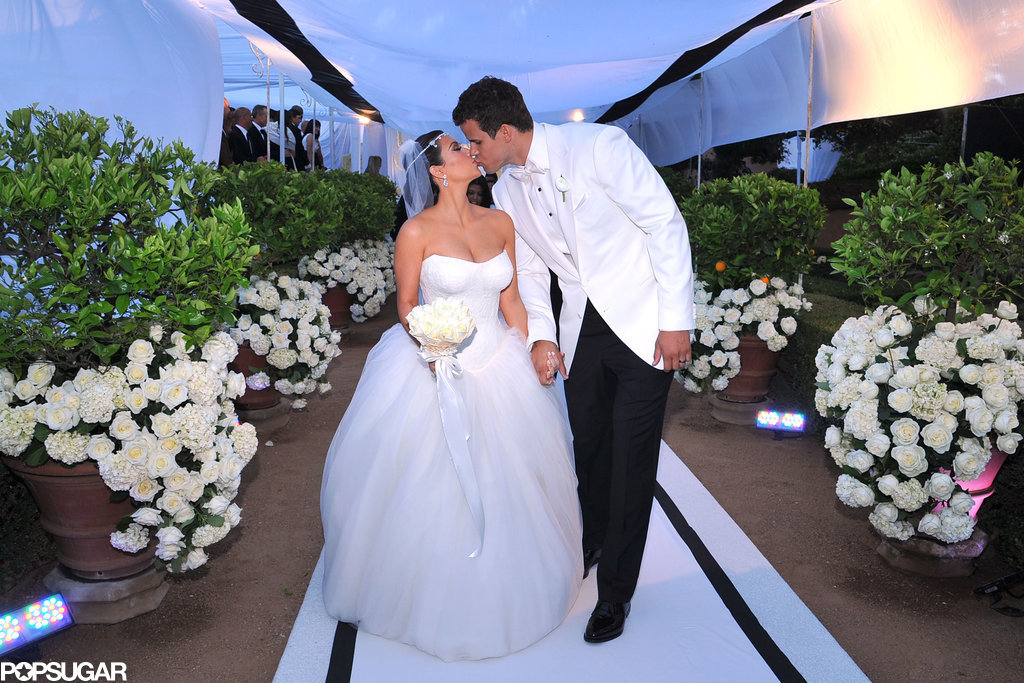 Before Kim Marries Kanye, Take a Look Back at That Other Wedding She Had