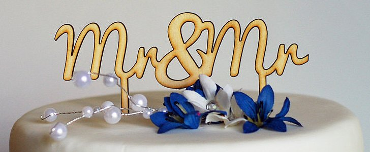 8 Wedding Cake Toppers For Your Same-Sex Wedding