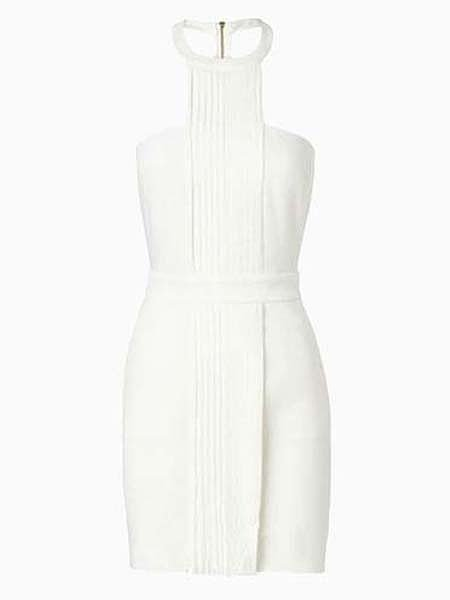 Choies White Halter Dress
