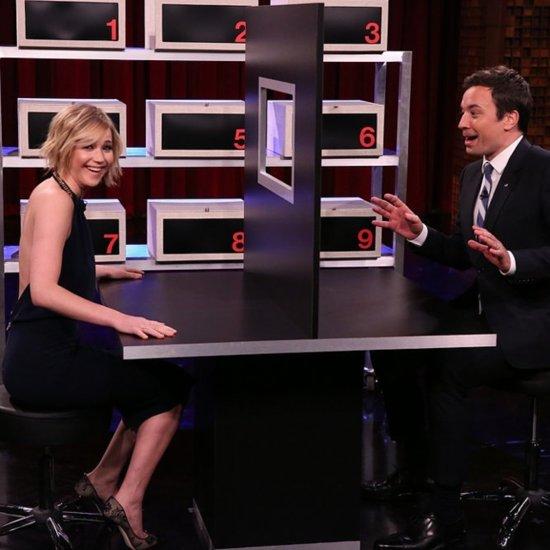 Jennifer Lawrence Plays Box of Lifes With Jimmy Fallon