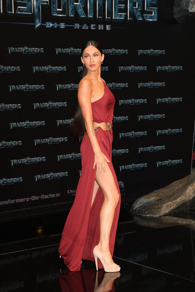 Megan Fox in Roberto Cavalli at the 2009 Transformers: Revenge of the Fallen Germany Premiere