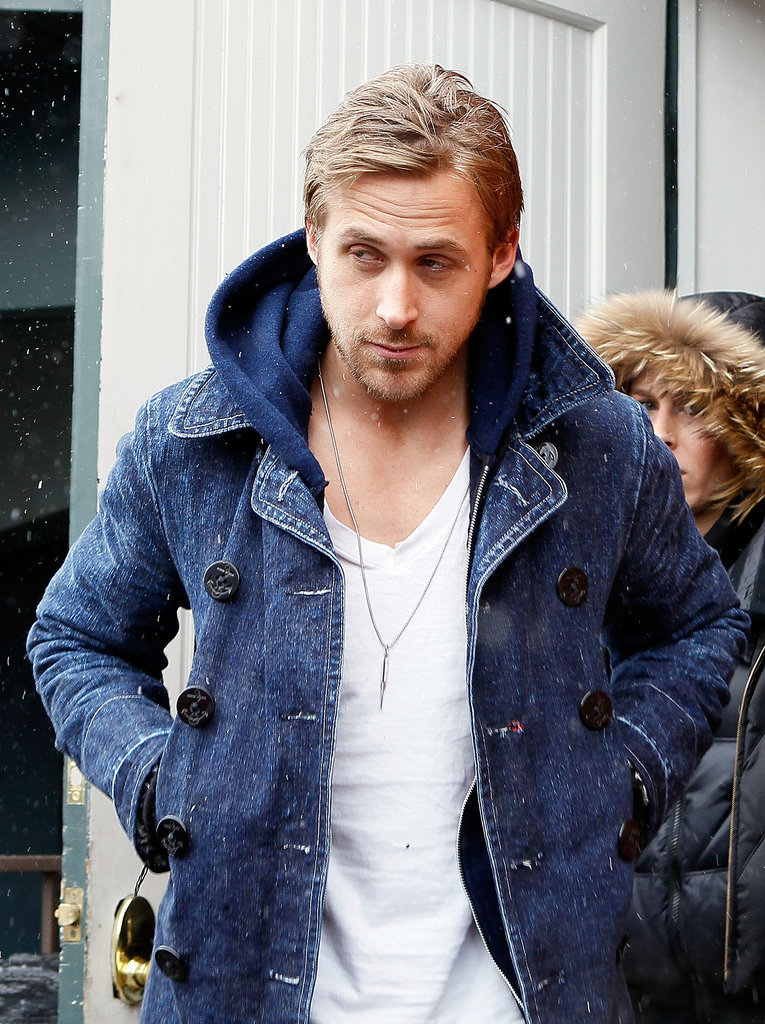 Ryan Gosling Looking Hot at Sundance