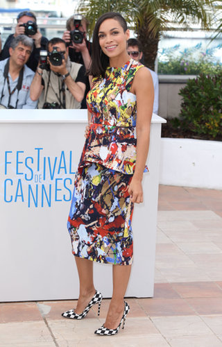 Rosario Dawson at the Captive Photocall