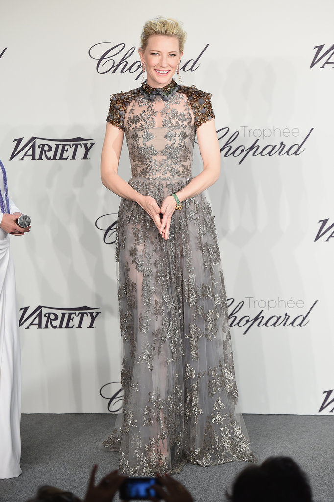 Cate Blanchett at the Chopard Trophy Event