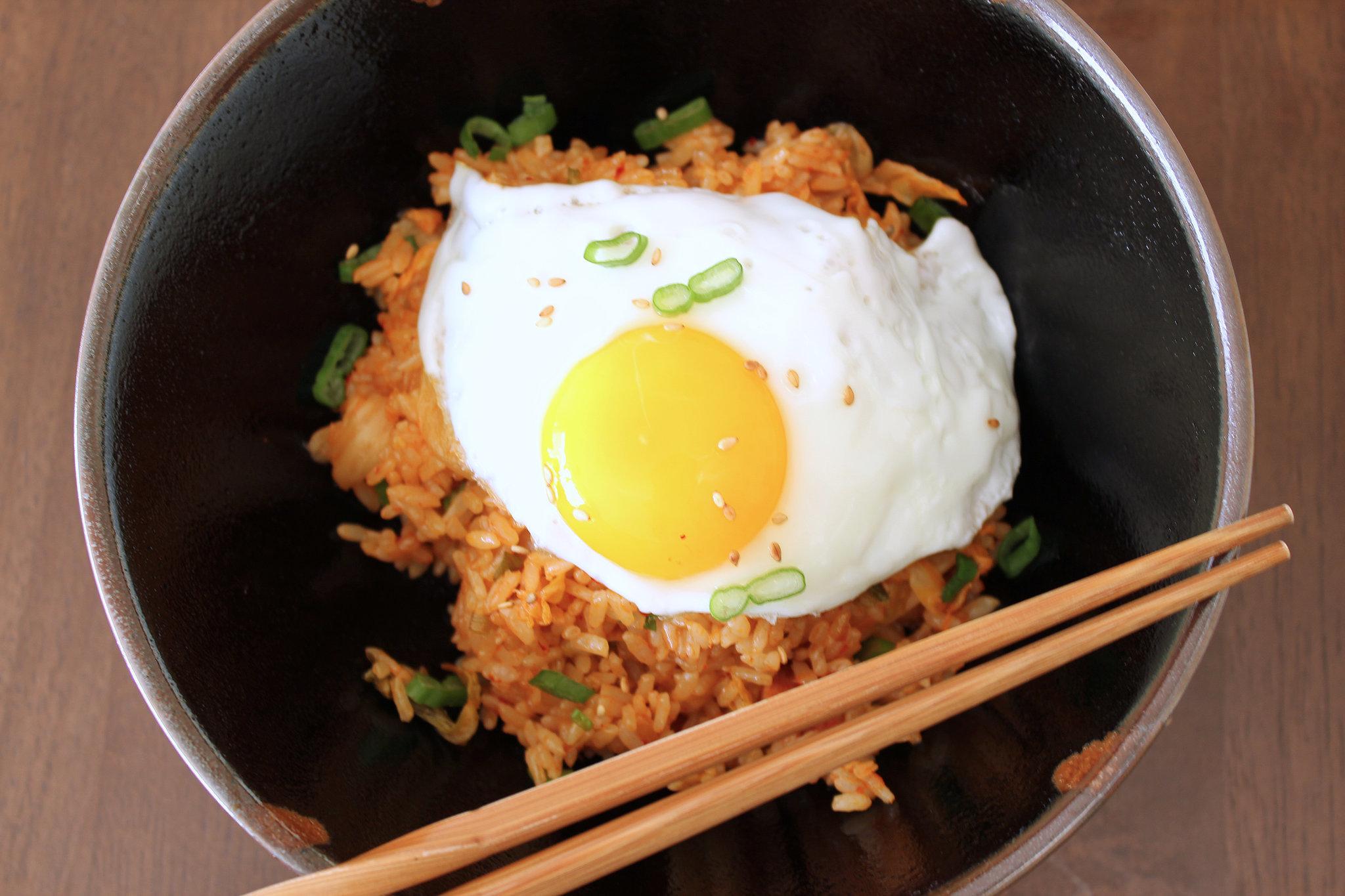 Kimchi Fried Rice | 9 Egg-cellent Meal Ideas | POPSUGAR Food
