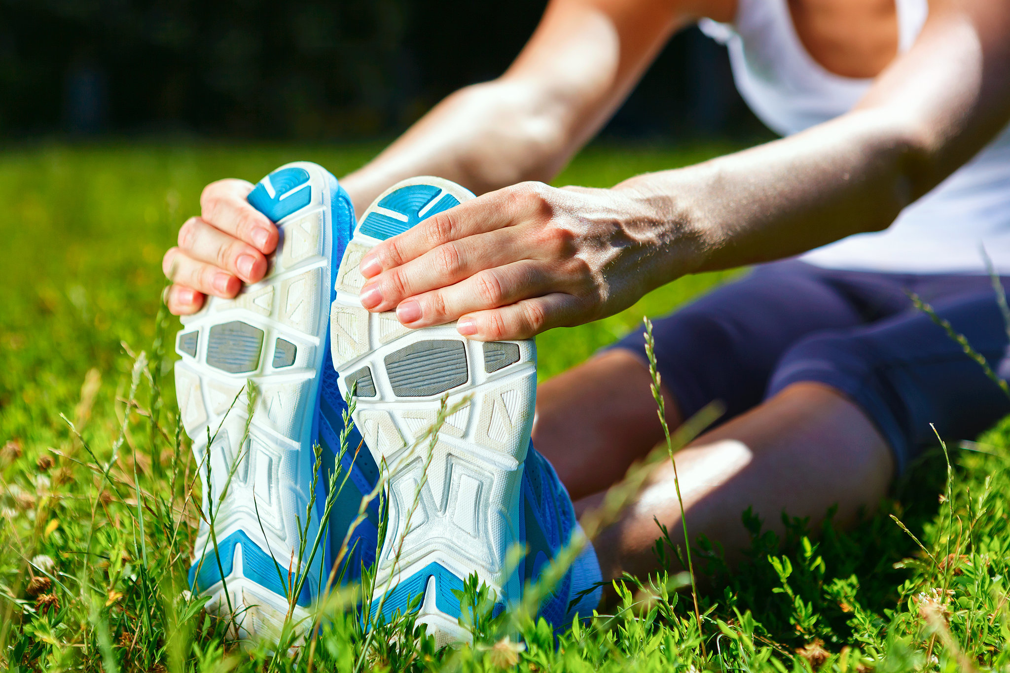 active rest day: walk, roll, and stretch