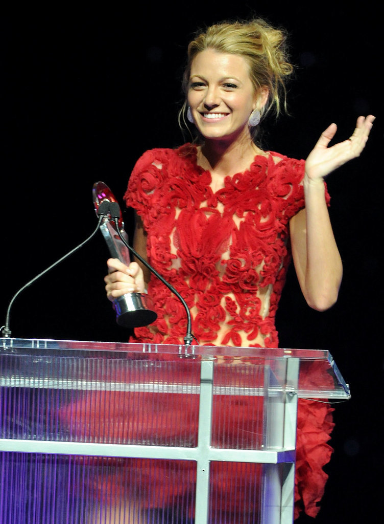 When She Won Breakthrough Performer at CinemaCon in 2011