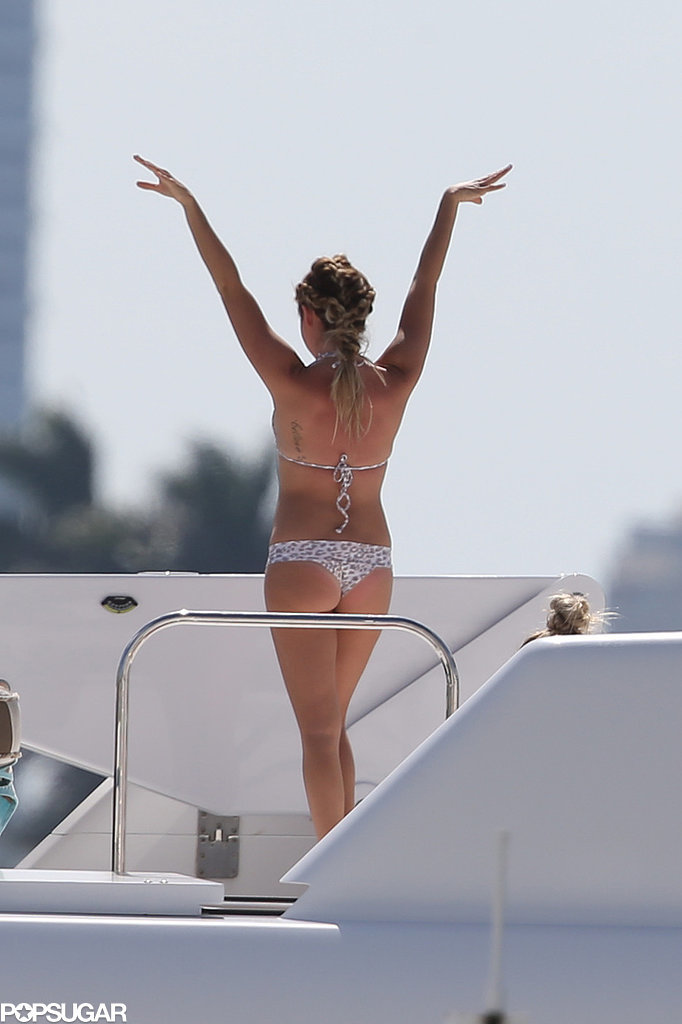 Ashley Tisdale's Bikini-Filled Bachelorette Party Looks Like a Music Video