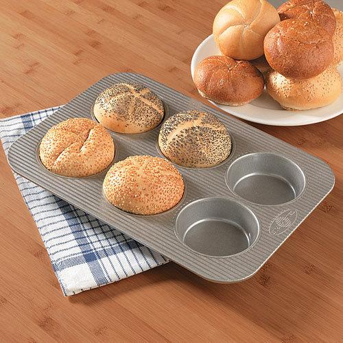 USA Pans Mini Round Cake Panel Pan