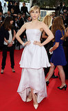 Suki Waterhouse at <b>The Homesman</b> Premiere
