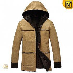 Sheepskin Leather Fur Jacket for Men CW878092