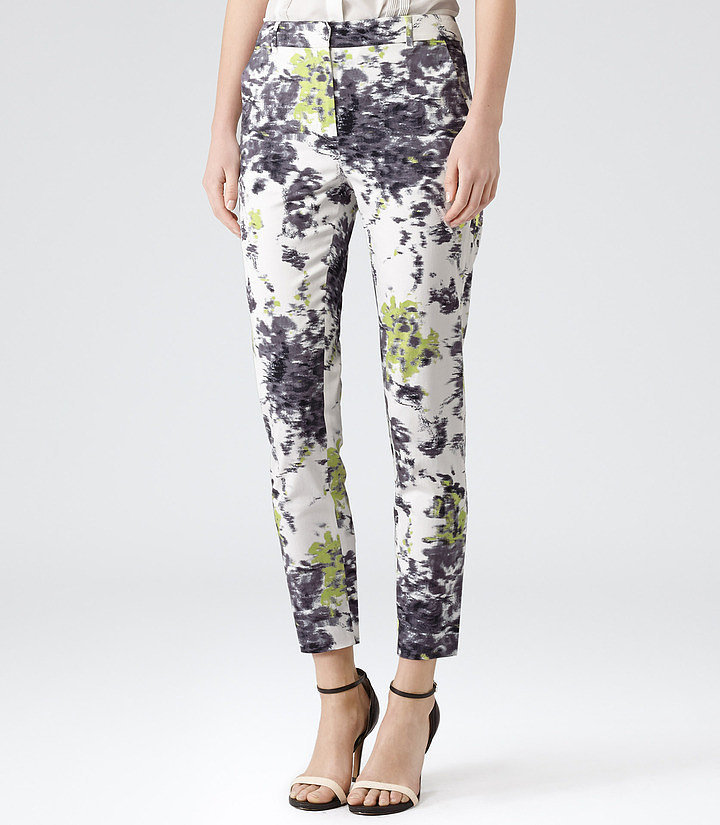 Reiss Floral-Print Pants