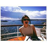 Kendall Jenner couldn't contain her excitement about being in the South of France. Source: Instagram user kendalljenner