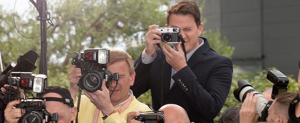 Say Cheese For Channing Tatum!
