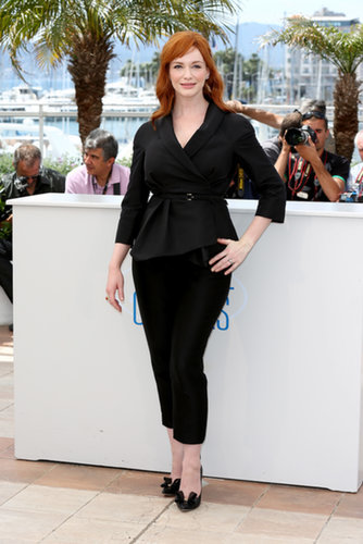 Christina Hendricks at the Lost River Photocall