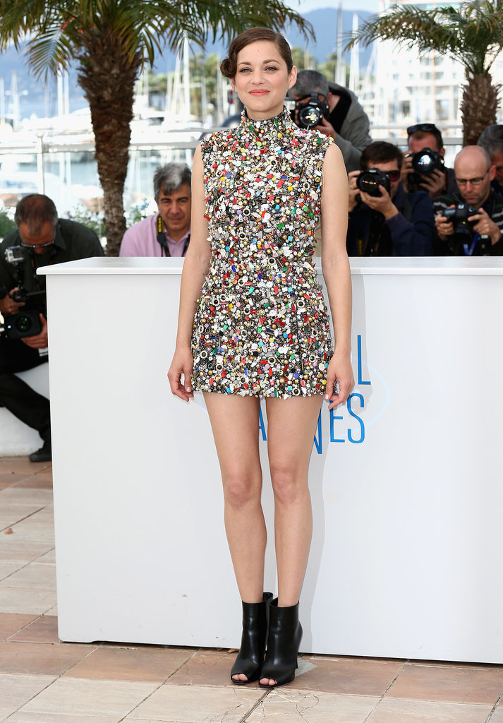 Marion Cotillard at the Two Days, One Night Photocall