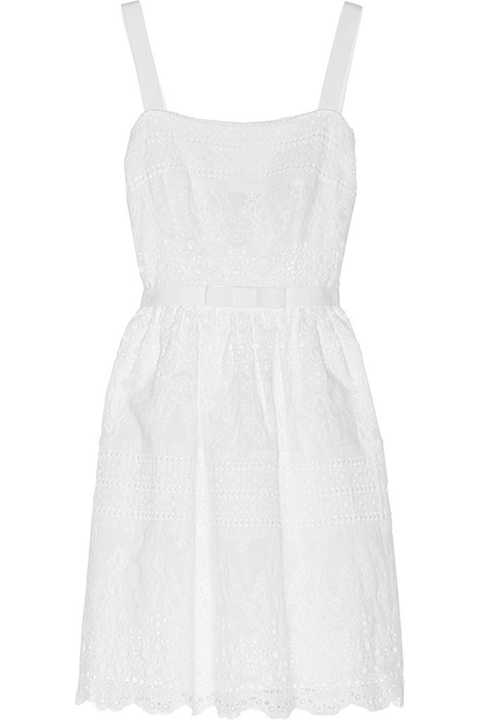 Collette Dinnigan White Cotton Dress