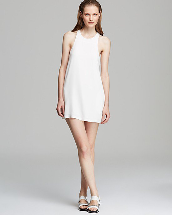 Autograph Addison x WeWoreWhat White Dress