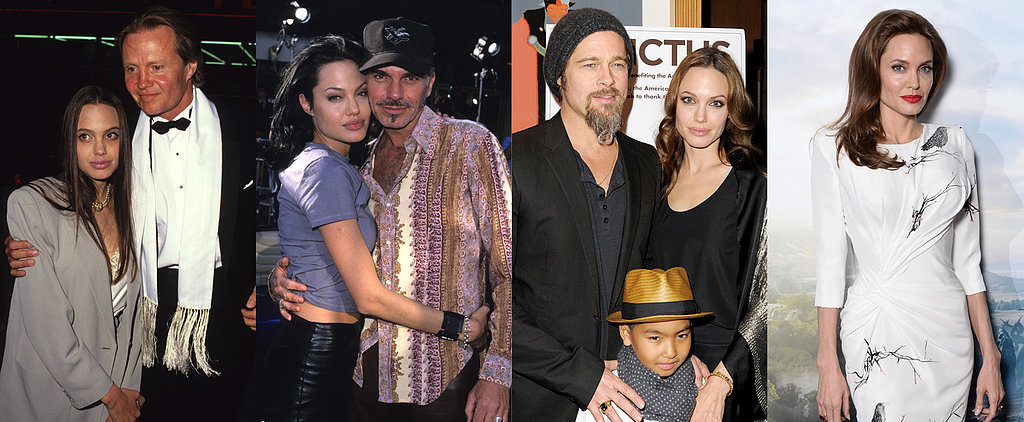 See How Angelina Jolie Transformed From Hollywood Bad Girl to Blushing Bride