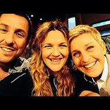 Drew Barrymore snapped a selfie with Adam Sandler and Ellen DeGeneres. Source: Instagram user drewbarrymore