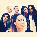 Khloé Kardashian snapped a selfie with her sisters Kourtney, Kendall, and Kylie in Paris. Source: Instagram user khloekardashian