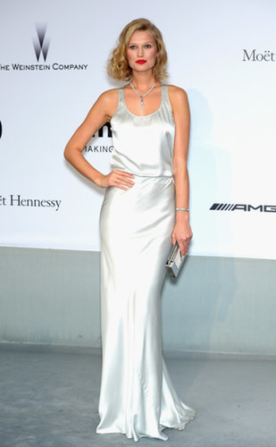 Toni Garrn at the amfAR Cinema Against AIDS Gala