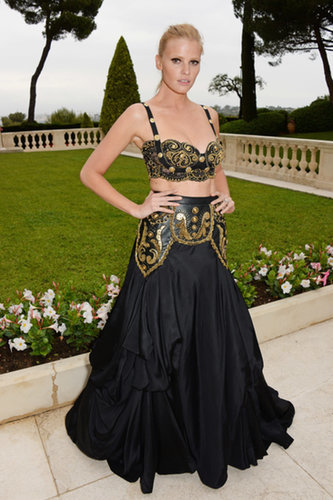 Lara Stone at the amfAR Cinema Against AIDS Gala