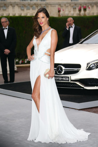 Alessandra Ambrosio at the amfAR Cinema Against AIDS Gala