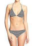Old Navy Striped Bikini