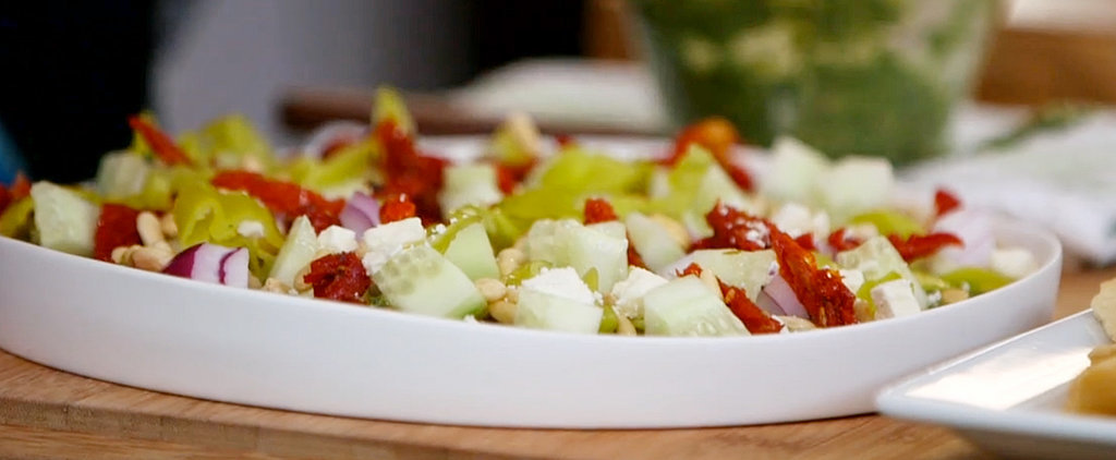 Give 7-Layer Dip a Mediterranean Spin