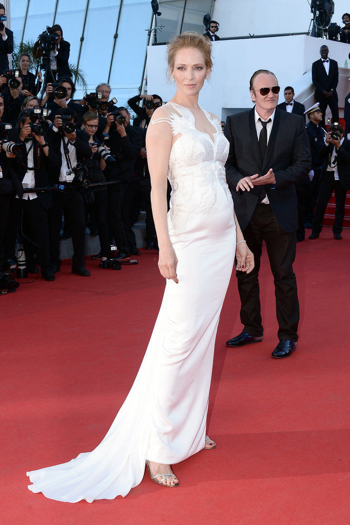 Uma Thurman at the Cannes Closing Ceremony