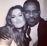 Tony also took a snap with Khloé. Source: Instagram user twftonywilliams