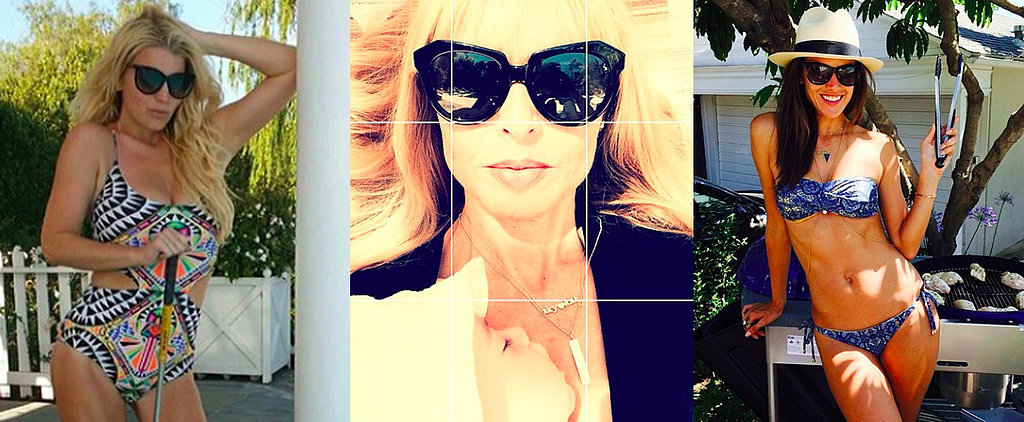 Bikinis, Babies, and Barbecues: How Stars Spent the Long Weekend