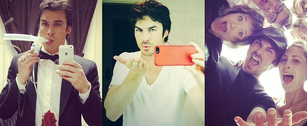 Ian Somerhalder Masters 27 Different Kinds of Selfies