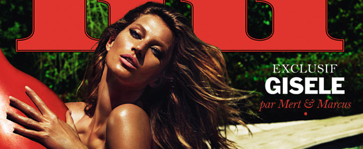Were You Prepared to See Gisele Bündchen Totally Nude Today?