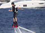 Step 4: Try adventurous sports. Like Flyboarding.
