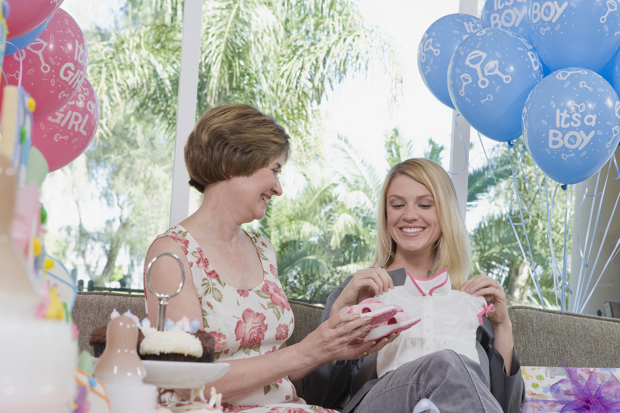 would you throw grandma to be a baby shower