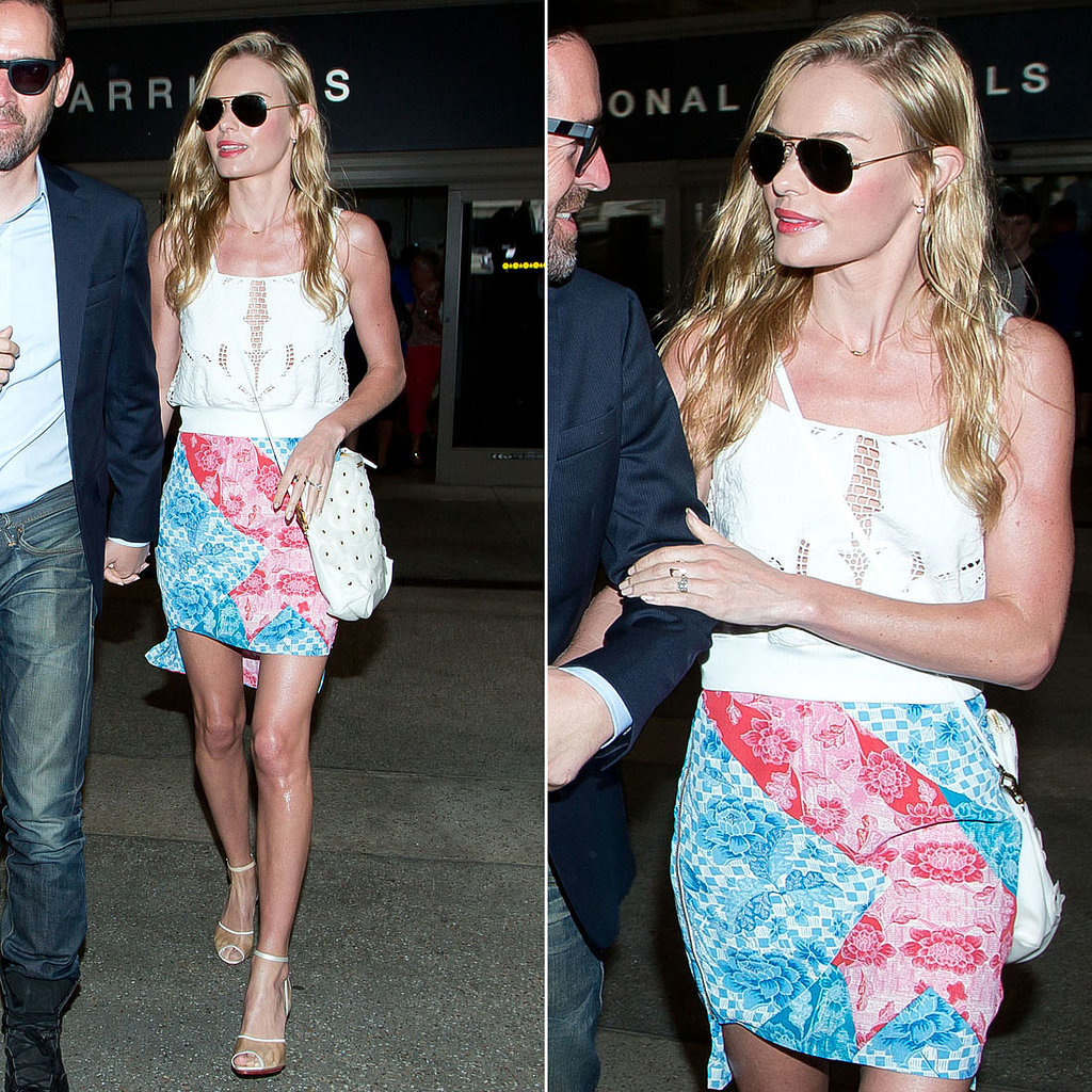 Even at the Airport, Kate Bosworth Manages to Look Like She's on Vacation