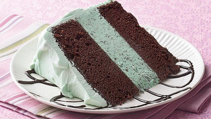Mint Ice Cream Cake