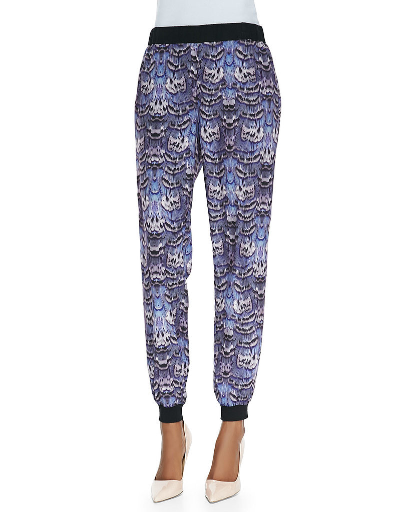 Tibi Printed Jogging Pants