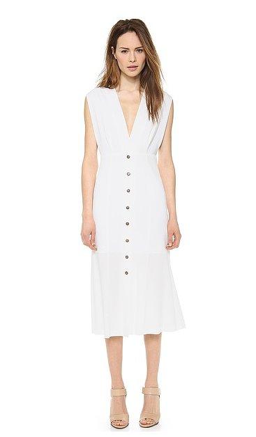 Theyskens' Theory White Dress