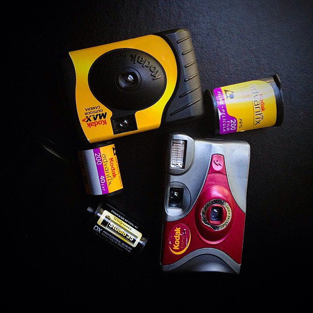 Disposable Camera + Kodak Advantix