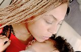 Beyoncé shared a sweet photo of a napping Blue while away for Memorial Day weekend. Source: Beyonce.com