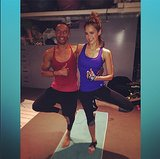 Post-workout pic? No sweat, says Jessica Alba.  Source: Instagram user jessicaalba