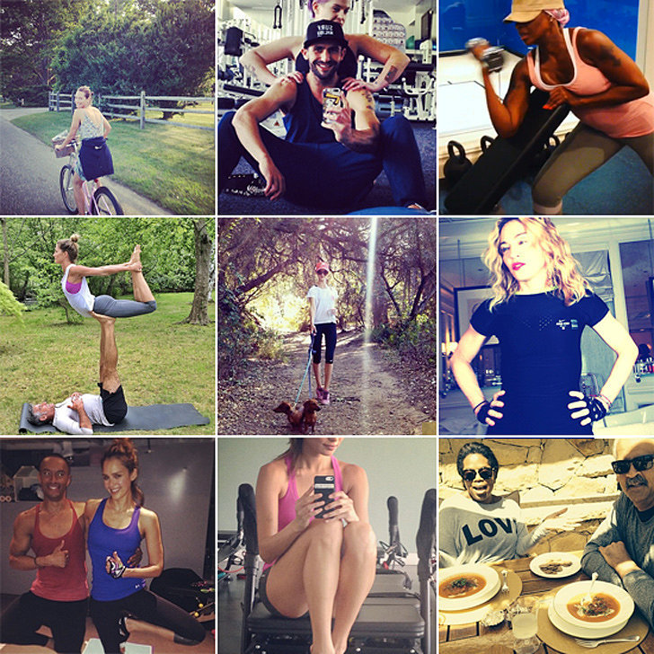 Healthy (Hot) Shots: Summer Fitness Inspiration From Your Favorite Celebs