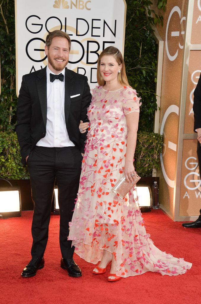 Drew and Will walked the red carpet together at the Golden Globes in January 2014.
